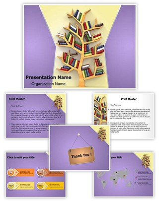 Tree of Education Editable PowerPoint Template