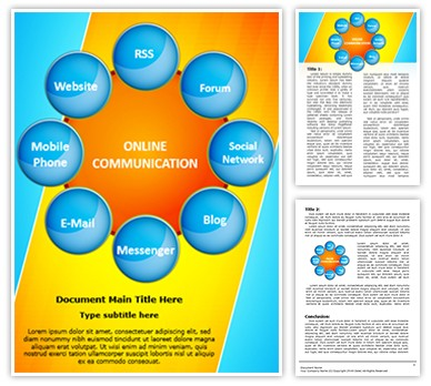 Market Research Editable Word Document Template