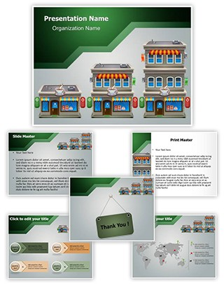 Coffee Shop Editable PowerPoint Template