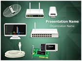 Network Hardware Editable PowerPoint Template