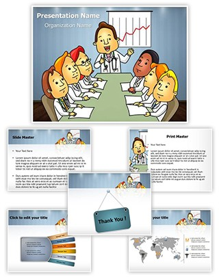 Medical Professionals Board Meeting Editable PowerPoint Template
