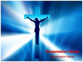 Jesus Cross Editable PowerPoint Template