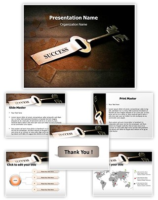 Success Key Editable PowerPoint Template