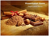 Delicious Cocoa Chocolate Editable PowerPoint Template