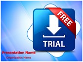 Download Software Free Trial Editable PowerPoint Template