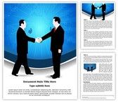 Business Deal Handshake Template