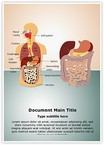 Digestive System Word Templates