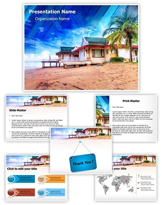 Exotic Thailand Vacation Editable PowerPoint Template