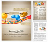 Hormone Glands Enzymes Editable Word Template