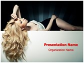 Hairstyle Hair Salon PowerPoint Templates