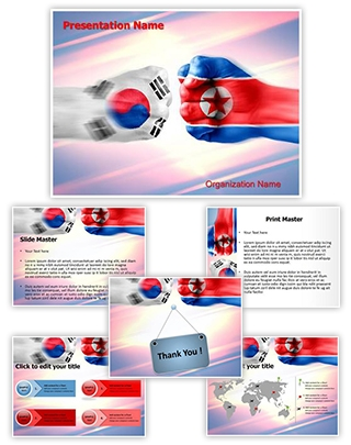 Professional south korea north korea editable powerpoint template south korea north korea editable powerpoint template toneelgroepblik Gallery