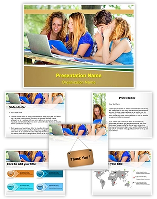 Technology and University Editable PowerPoint Template