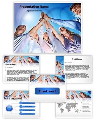 Team Spirit Editable PowerPoint Template
