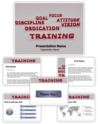 Business Training Editable PowerPoint Template