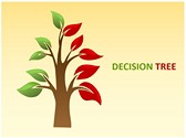 Decision Tree Editable PowerPoint Template