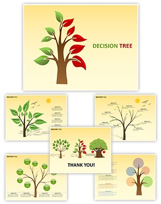 Decision Tree Editable Charts