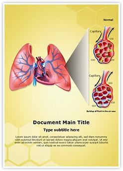 Pulmonary Edema Editable Word Template