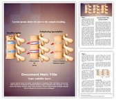 Spine Ankylosing Spondylitis Template