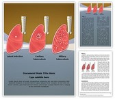 Tuberculosis Types Editable Word Template