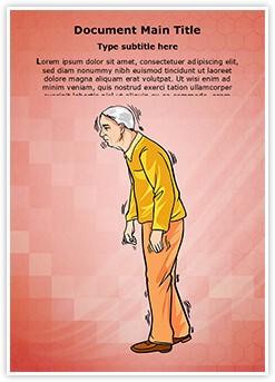 Old Age Parkinson Disease Editable Word Template