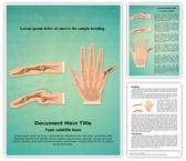 Orthopedic Finger Dislocation Template