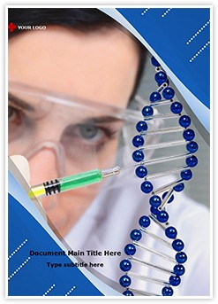 Genetic Engineering Editable Word Template