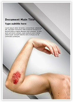 Abrasion Editable Word Template