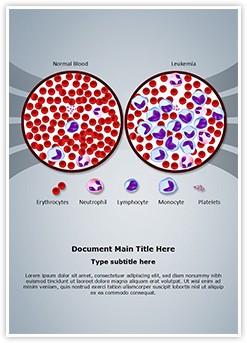 Leukemia Diagnosis Editable Word Template
