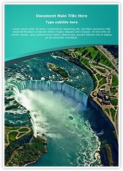Niagara Falls Editable Word Template
