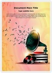 Gramophone Abstract Background