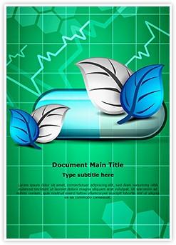 Medical Herbal Capsule Editable Word Template