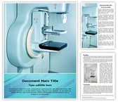Mammography X Ray Machine Template