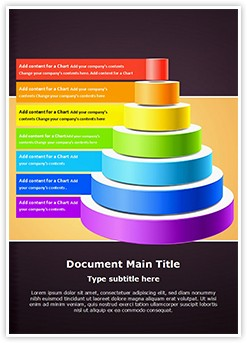 Organizational Hierarchy Editable Word Template