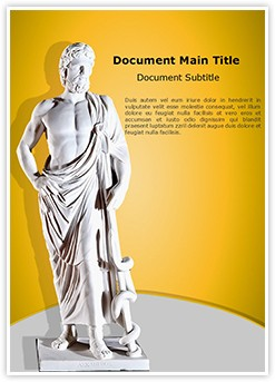 Asclepius Editable Word Template