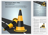 Traffic Cones Template