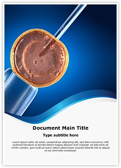 Cell Manipulation Editable Word Template