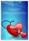 Heart Stethoscope Word Templates