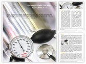 Stethoscope and Pressure meter Template