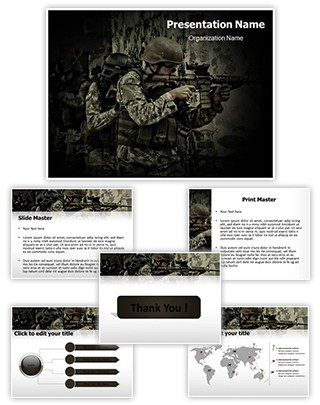 War Editable PowerPoint Template