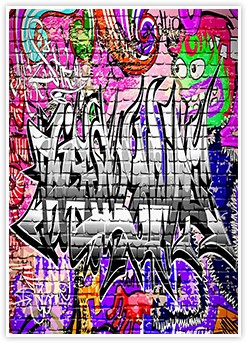 Graffiti Urban Art Editable Word Template