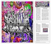 Graffiti Urban Art Template