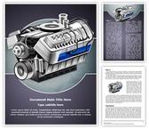 Automobile Engine Editable Word Template
