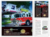 Fire Department Editable Word Template