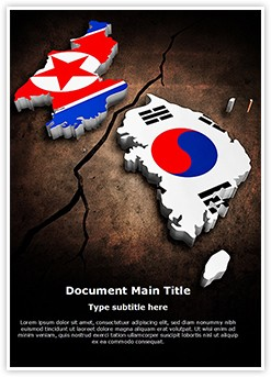 Korean Crisis Editable Word Template