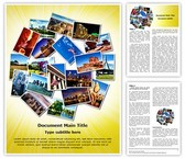 USA Tourism Editable Word Template