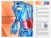 Back pain Editable Word Template