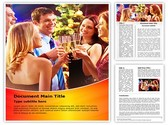 Night Drink Party Editable Word Template