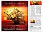 Sailing In Sea Editable Word Template