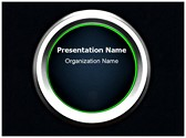 Ignition Button Editable PowerPoint Template