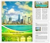 Dubai Tourism Editable Word Template